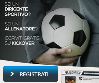 Registrati Ora su KickOver il Social Sportivo